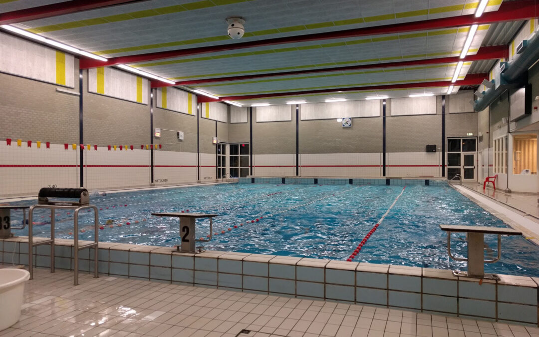 Zwembad opnieuw gesloten