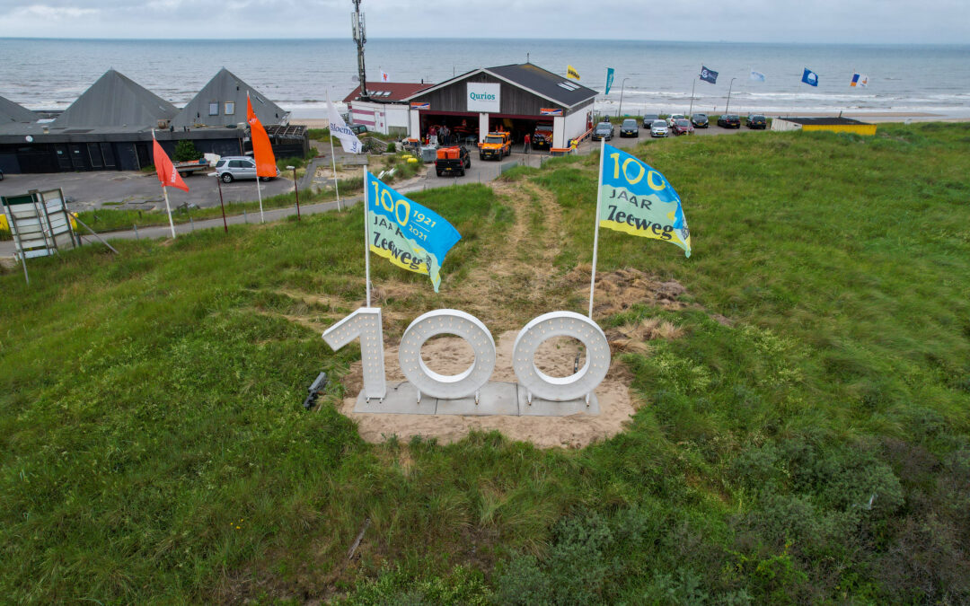100 jaar  Zeeweg  viering
