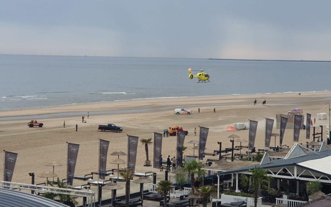 Reanimatie bij strandfeest